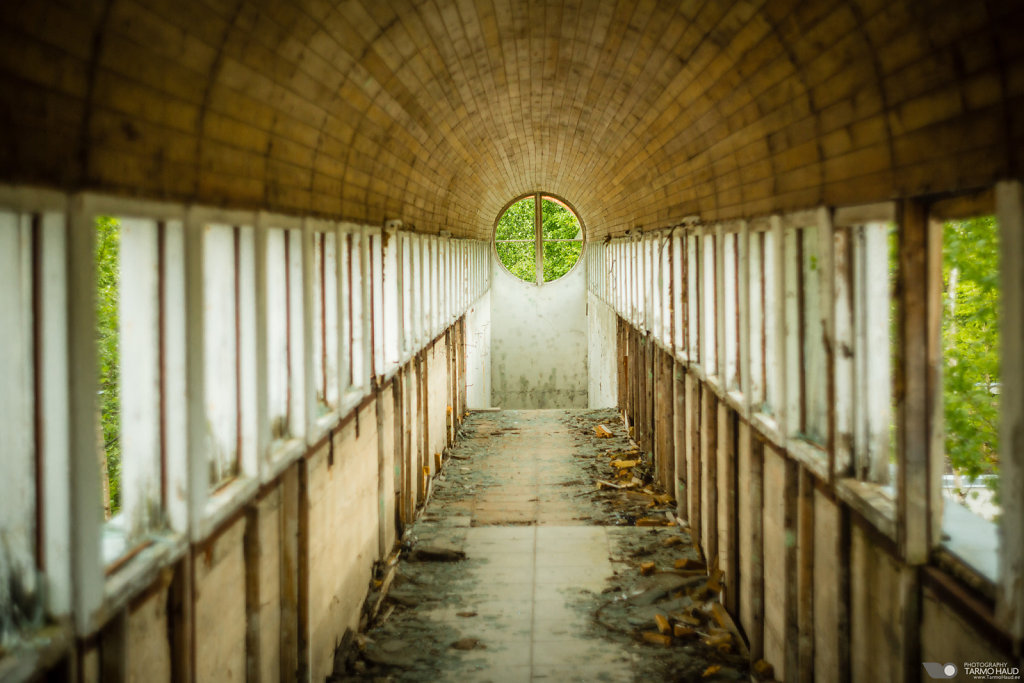 Abandoned Omedu fish farm