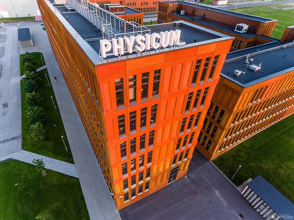Physics department, University of Tartu