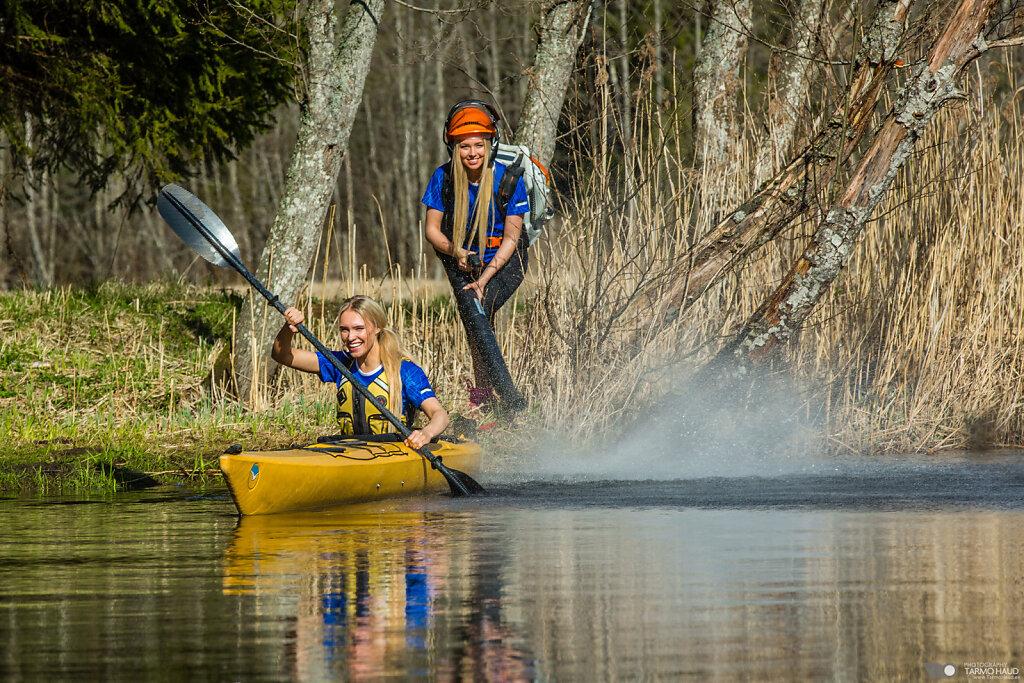 Adventure sports photoshoot