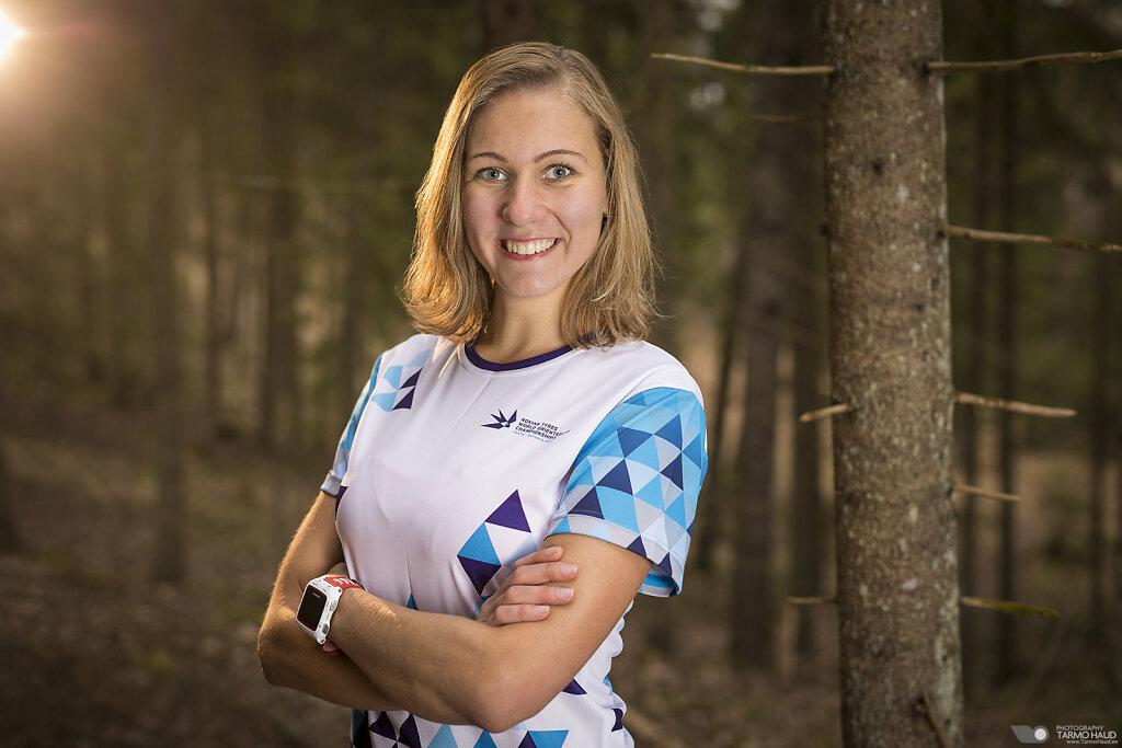 WOC 2017 - Team Estonia - Evely Kaasiku