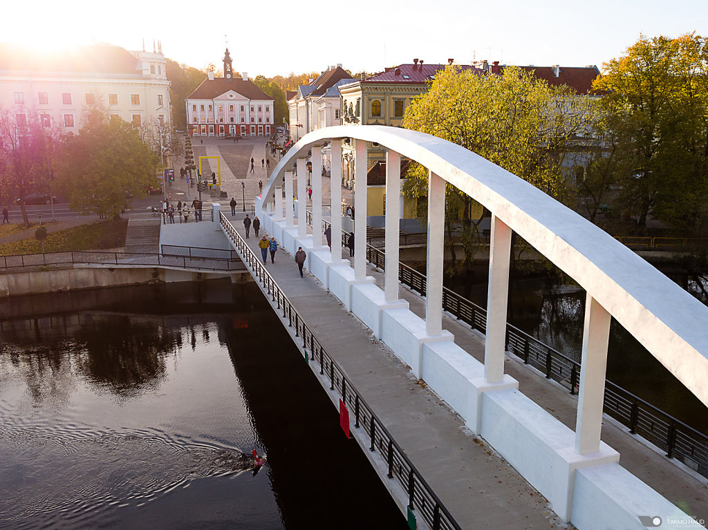 "Renovated arc bridge ""Kaarsild"""