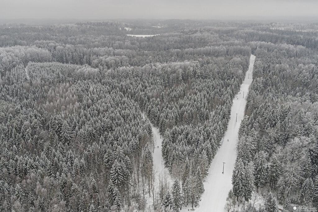 Haanja cross-country ski tracks